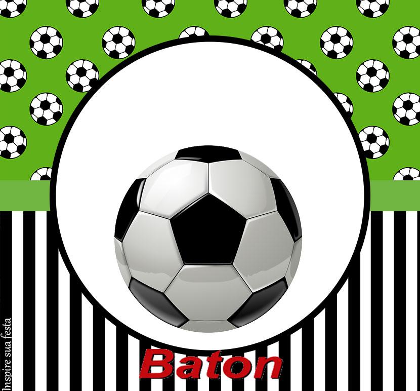 Baton garoto Futebol