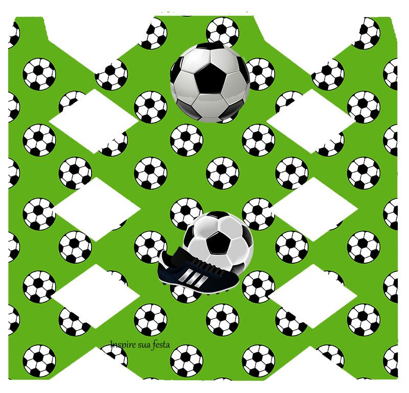 Caixa bala Futebol