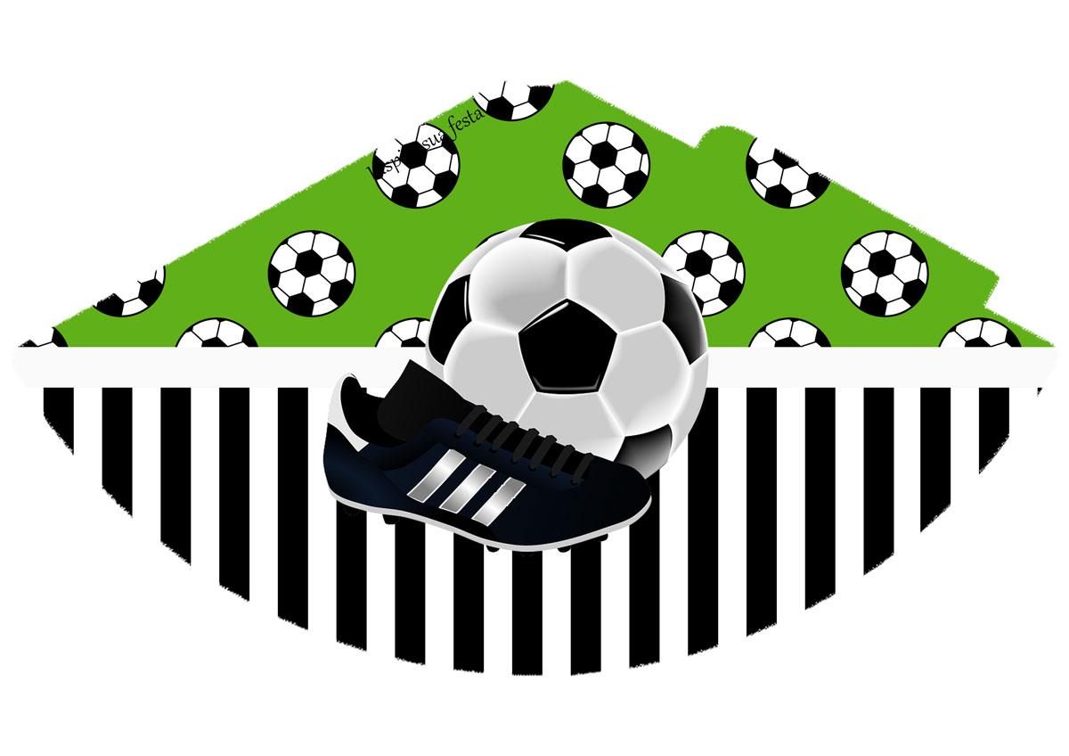 Chapéu de aniversário Futebol