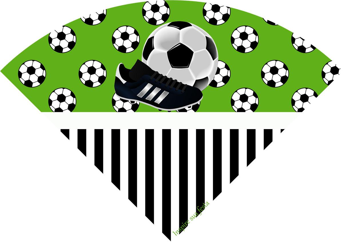 Cone de guloseimas Futebol