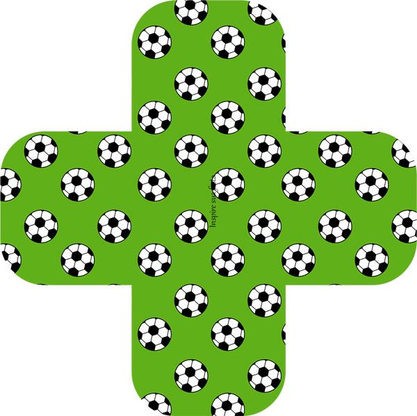 Forminha para docinho Futebol