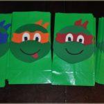 Como fazer uma sacolinha das Tartarugas Ninja – PAP