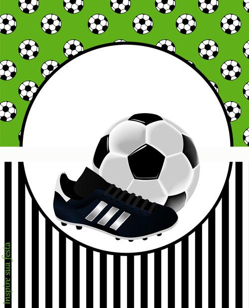 Bisnaga de brigadeiro Futebol