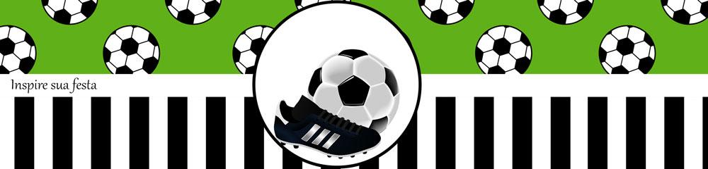 Rótulo água Futebol