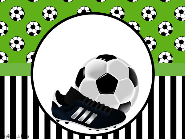 Matrimonio Tema Juventus : Futebol kit festa grátis para imprimir inspire sua