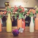 Como pintar garrafas para festa  – Passo a passo