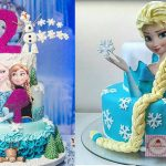 40 ideias de bolos do Frozen