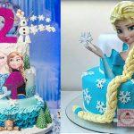 40 ideias de bolos do Frozen