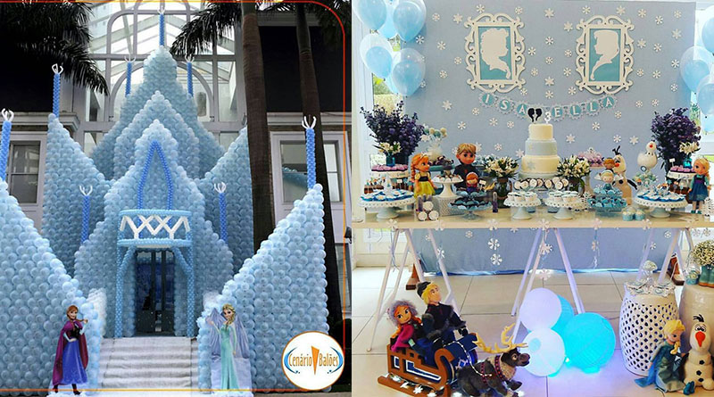 Mais de 30 ideias de decoração Frozen: Uma aventura congelante