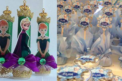 Ideias lembrancinhas Frozen