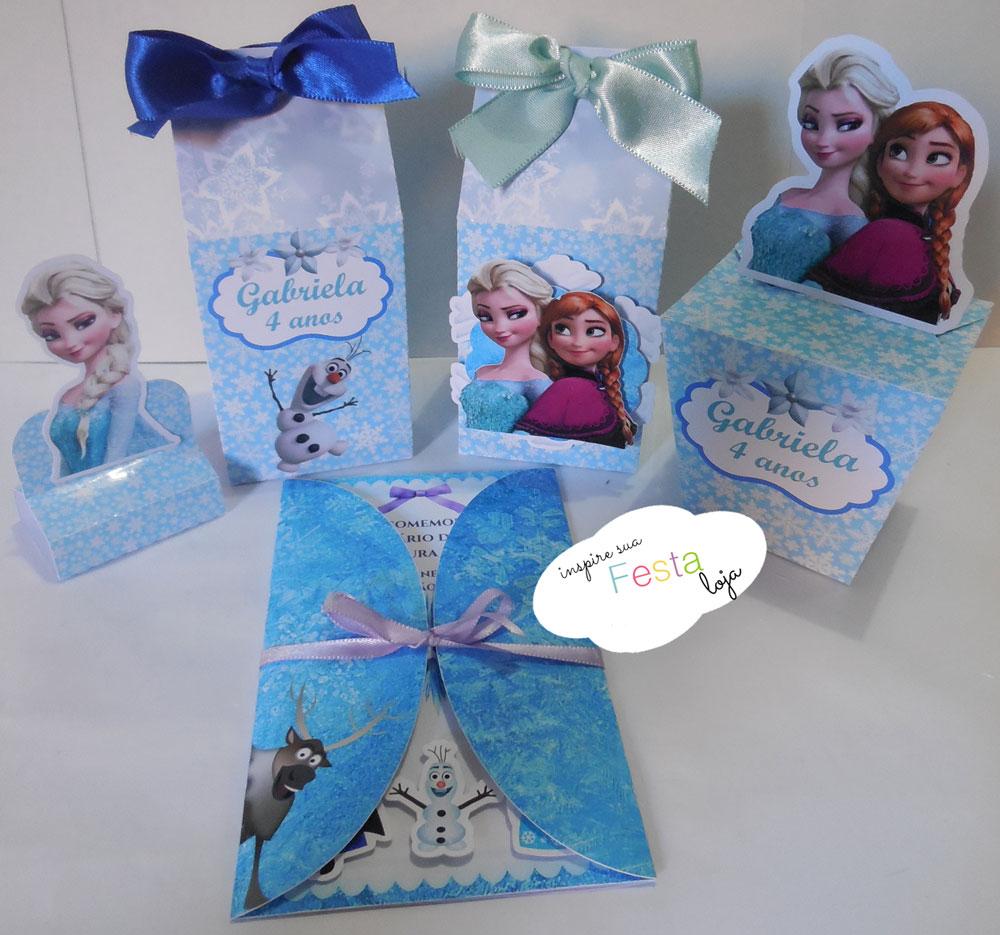 kit frozen inspire sua festa