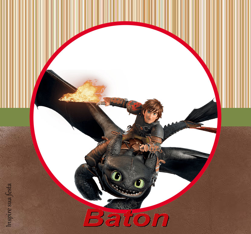 Baton Como treinar o seu dragão