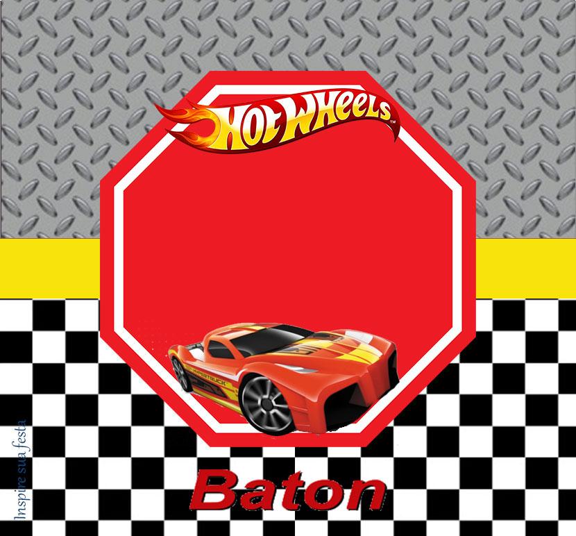 Baton garoto Hot Wheels