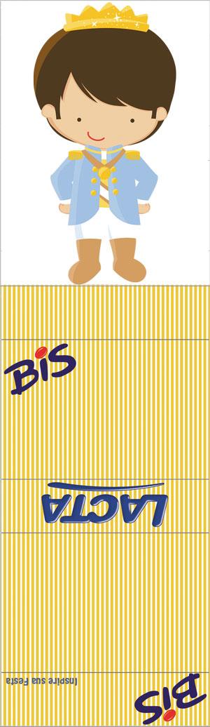 Bis duplo com display Rei Azul e Dourado