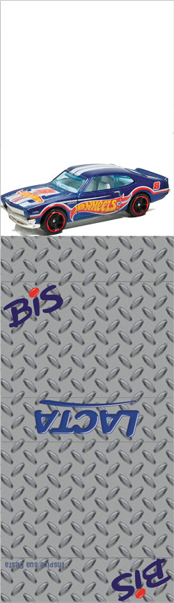 Bis duplo com display Hot Wheels