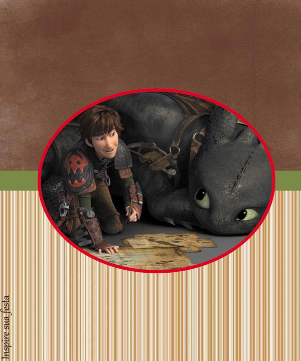 Bisnaga de brigadeiro Como treinar o seu dragão