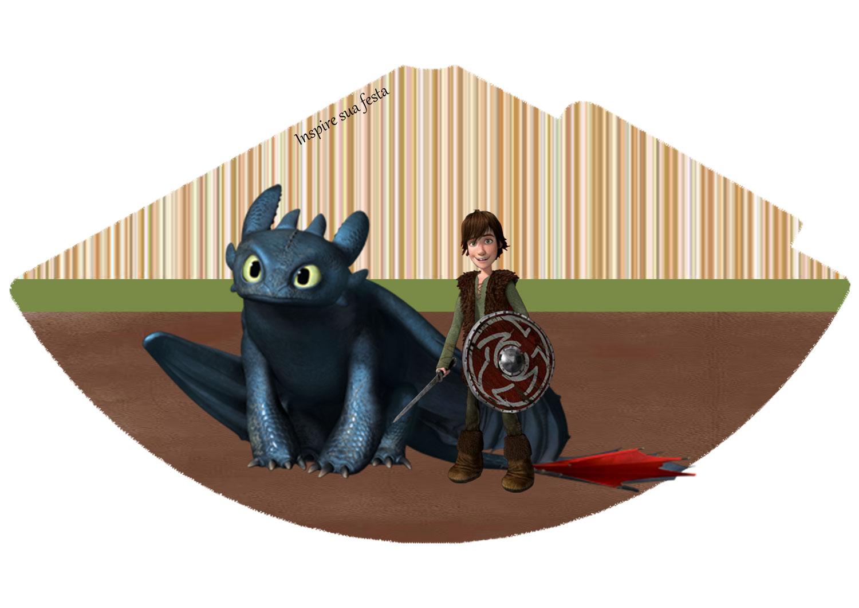 Chapéu de aniversário Como treinar o seu dragão
