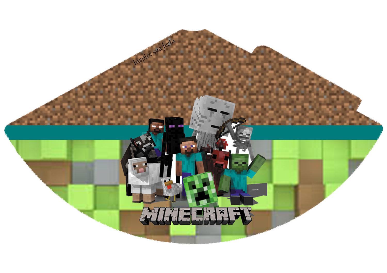 Chapéu de aniversário Minecraft