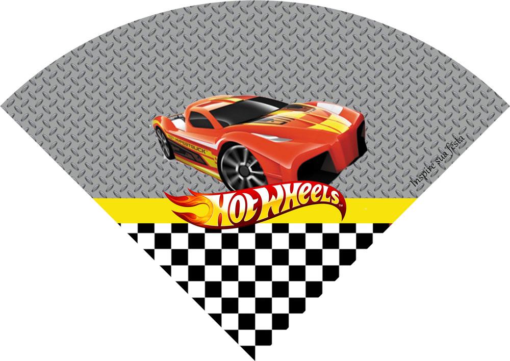 Cone de guloseimas Hot Wheels