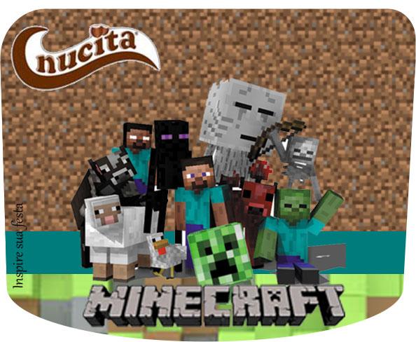 Creme nucita Minecraft