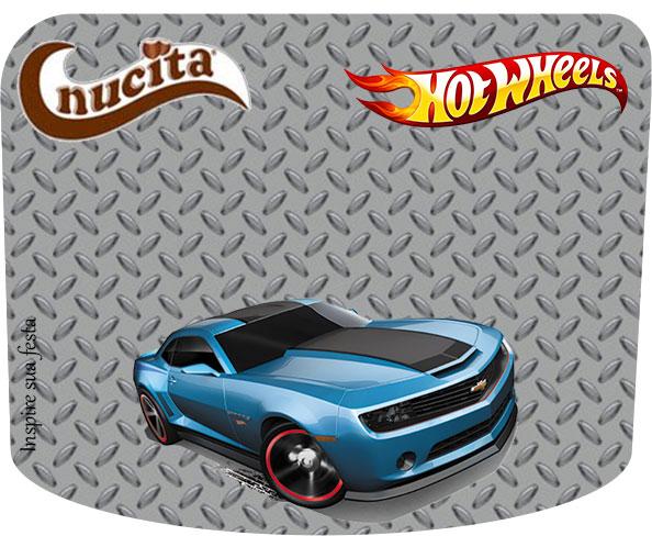 Creme nucita Hot Wheels