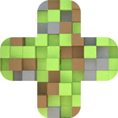Forminha para docinho Minecraft