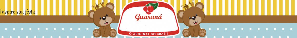 Rótulo guaraná Ursinho Rei