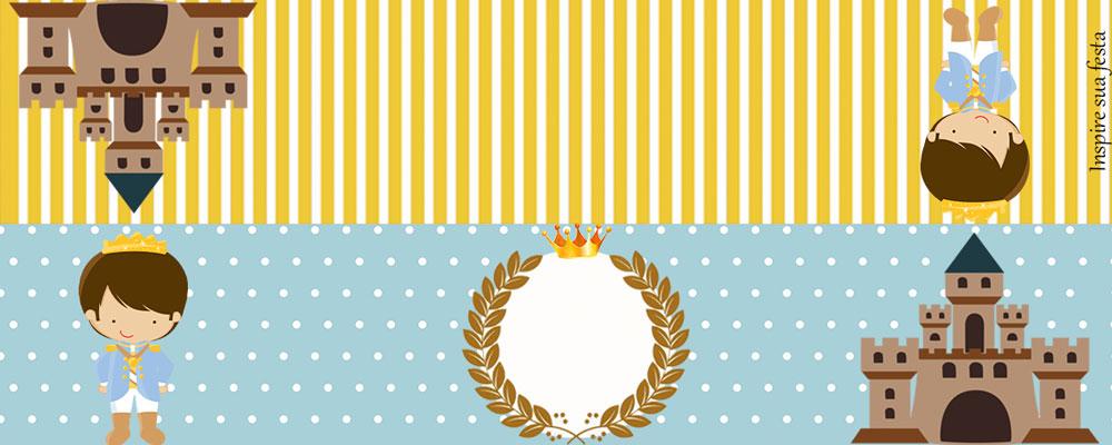 Lapela Rei Azul e Dourado