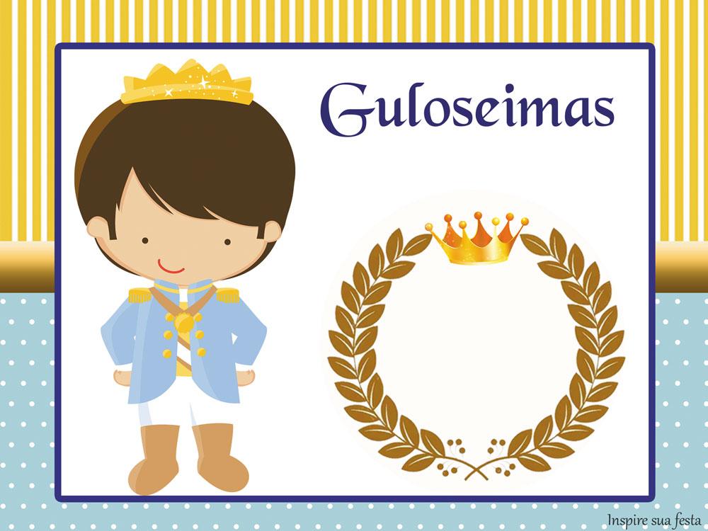 Rei Azul e Dourado – Kit digital gratuito
