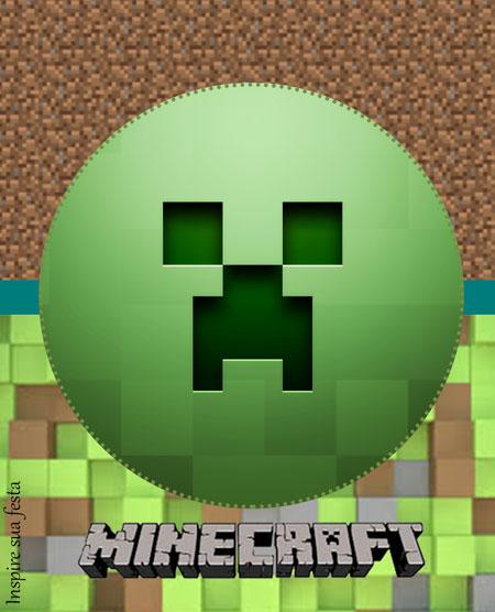 Bisnaga de brigadeiro Minecraft