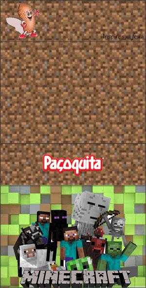 Paçoquita Minecraft