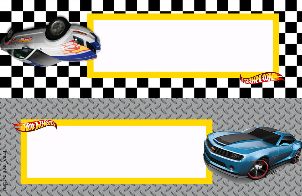 Placa de mesa Hot Wheels