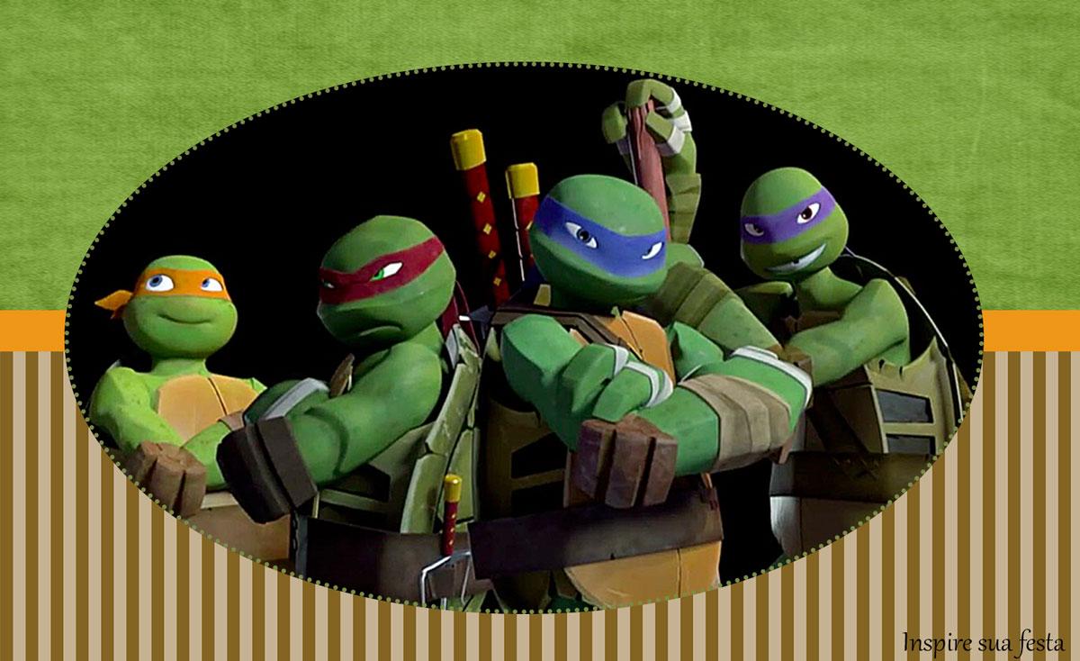 tartarugas ninja kit digital gratuito inspire sua festa - Ninja Gratuit