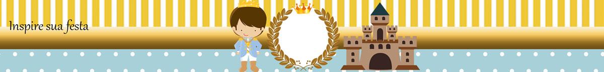 Rótulo papinha nestle Rei Azul e Dourado
