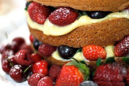 Como fazer Bolo pelado – Naked Cake