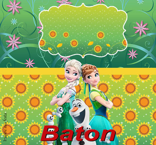Baton Frozen Febre Congelante