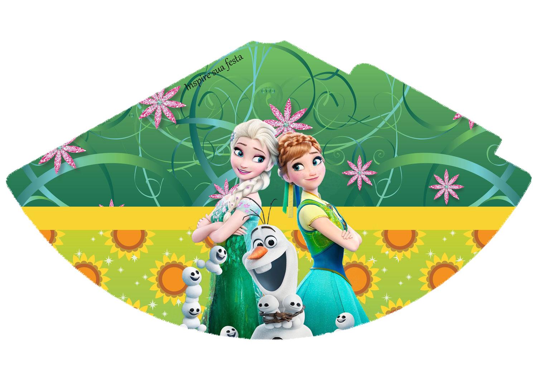 Chapéu de aniversário Frozen Febre Congelante