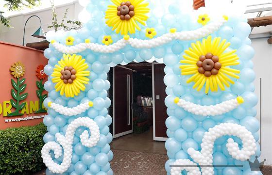 festa-frozen-entrada-baloes