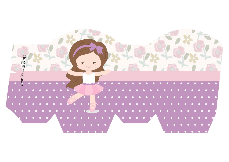 Aparador Gama ~ Bailarina Lilás u2013 Kit festa grátis para imprimir u2013 Inspire sua Festa
