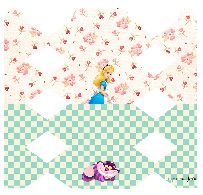 Suficiente Alice no País das Maravilhas – Kit festa grátis para imprimir  UR12
