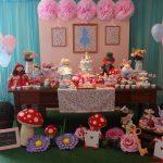 Decoração Alice no País das Maravilhas By Caramelo Festas Infantis