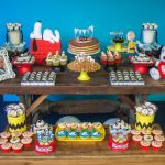 Decoração Snoopy By Carol Festiva