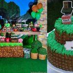 Sugestões e ideias para festa no tema Minecraft