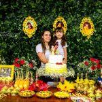 A Bela e a Fera – 4 anos da Milena