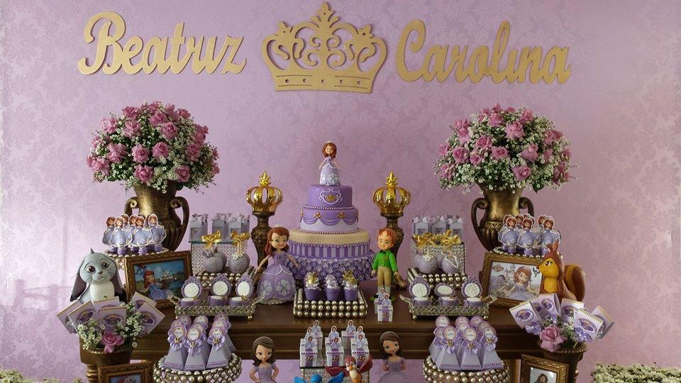 Princesa Sofia by Erlaine Silva Festas Personalizadas