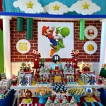 Super Mario Bros by  Sweet Memories Party Designs
