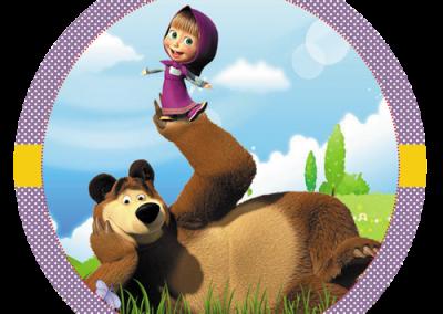 Tag-redonda-personalizada-gratis-masha-e-o-urso