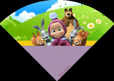 cone-personalizado-gratuito-masha-e-o-urso