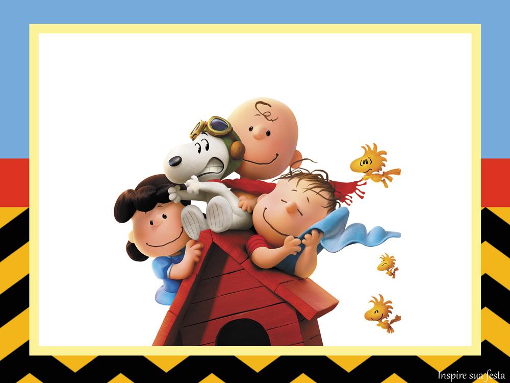 Snoopy – Kit Festa Grátis