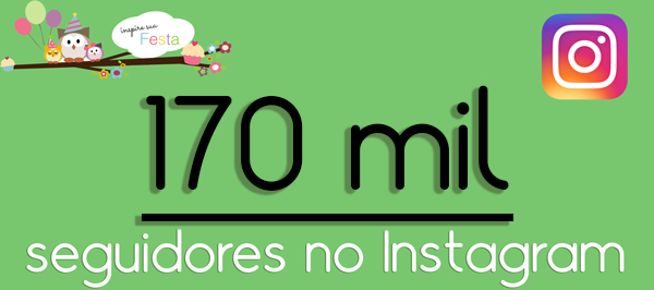 170 mil seguidores no Instagram